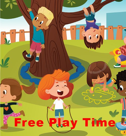 Free play time